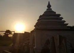 Fiberglass Golden Shikhar Kalash, For Temple