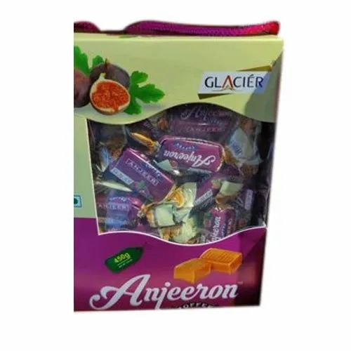 Glacier Rectangular Anjeeron Toffee, Packaging Type: Box, Packaging Size: 100 Piece