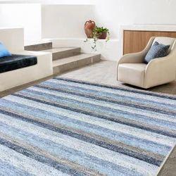 Wool Viscose Handmade Living Room Center Rug