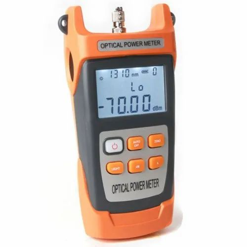 Ftth High Precision Handheld Fiber Optical Power Meter -50 26 dBm Fiber  Optical Cable Tester at Rs 2500/piece | Optical Power Meter | ID:  20473958588