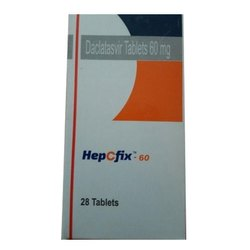HepCfix 60mg Daclatasvir Tablet