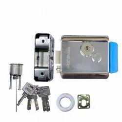 Main Door UNI Electronic Lock EL-490, Finish Type: Stainless Steel
