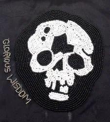 Skeleton Beaded Coaster