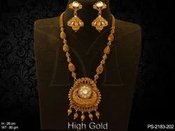 Long Designer Antique Jewellery Pendant Set