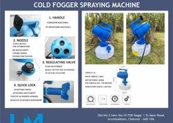Cold Fogger Spraying Machine