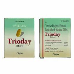 Tenofovir Disoproxil Fumarate Lamivudine Tablets