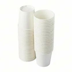 White Printed Paper Cup With Lid 12 Oz, For Event, Packet Size: 1000