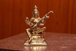 Panchaloha Saraswathi Matha Statue 12 Inches