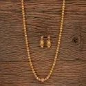 Antique Gold Plated Long Necklace 203508, Size: Length = 30 Inch