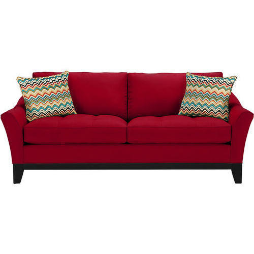 Red Two Seater Sofa Set Rs 4000 Seat