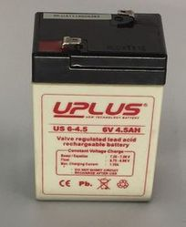 UPLUS SMF BATTERY 6V 4.5 AH