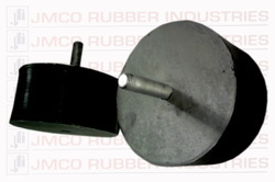 JMCO Black Rubber O Mounting