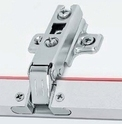 Thick Door Slide On Auto Close Hinge  - 19MM PAH01-30