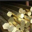 Brass Hex Bar round Is 319 free cutting