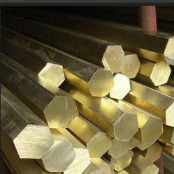 Polished Brass Hex Bar Round Is 319 And 320, For Construction, Rod Length: 10 Meter