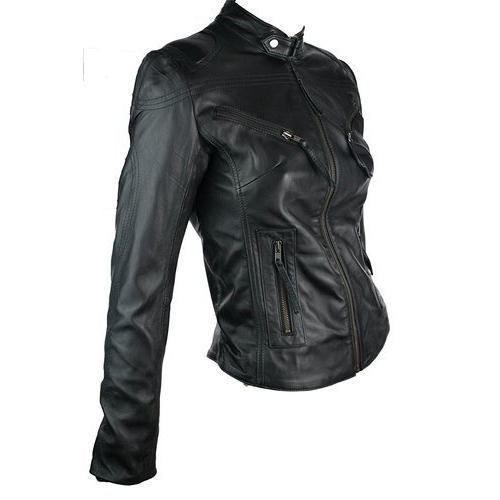 Ladies Black Leather Jackets At Rs 2500 Piece चमड क