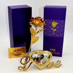 190cb04499d Gold Plated Rose - Golden Plated Rose Latest Price