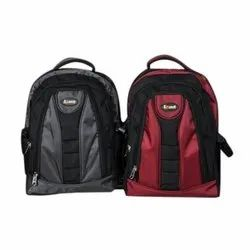 PU Red and Grey Fancy Backpack Bags
