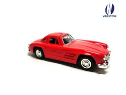 Wah Notion Open Door Metal Die Cast Pull Back Car Toy Color Red (Vintage Car)Realistic Look