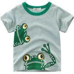 Sleeveless Boy Kids T Shirt