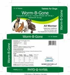 Worm-B-Gone For Dogs, 1x10 Tabs