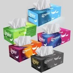 White Facial Tissue Paper, Packaging Type: Packet, 12.5 Gsm