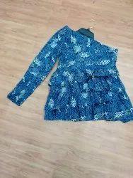 Cotton Woven Ladies Printed Fancy Wear