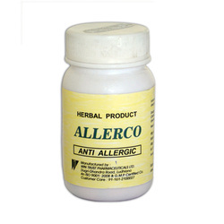 Herbal Anti Allergic Tablet (Allerco Tablets)