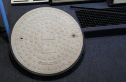 Thermodrain FRP Manhole Cover With Frame 900mm x 900mm