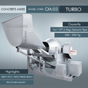 Hydraulic Type Turbo Concrete Mixer