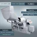 Hydraulic Type Turbo Concrete Mixer