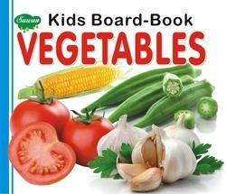 Kids Board Vegetables Book