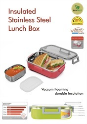 Insulated Stainless Steel Lunch Box NJO-7703
