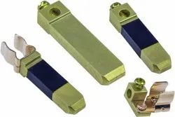 Brass flat pin, For Electrical Plug Holder, Packaging Size: Packet