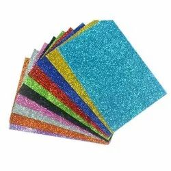 Glitter Foam Sticker Sheet A4 Size