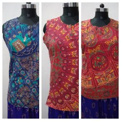 Ladies Rajasthani Print Kurti