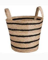Jute Baskets with Handles