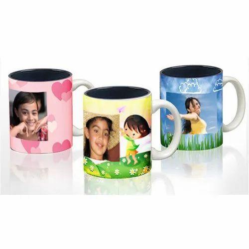 AGW Printed Sublimation Photo Mug, For Gifting