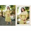 Ladies Cotton Hand Work Kurti