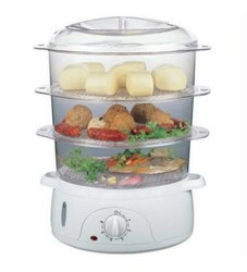 Round VT-7063 Skyline Food Steamer, For Home,Restaurant Etc