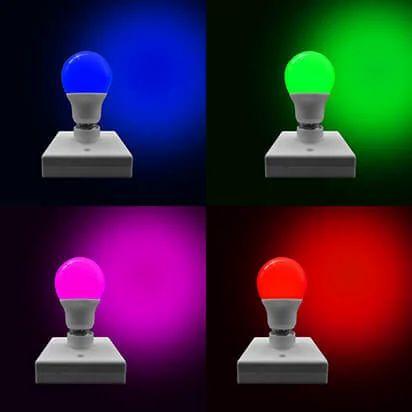 Color LED Bulbs Raw Material, LED Bulb Power: 7W, Rs 12 /piece MLSON Home  Appliances | ID: 19953345888