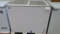 Voltas Double Door Glass Top Deep Freezer, Capacity: 50 Litre To 600 Litre