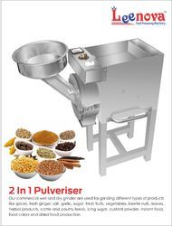 SS 2in1 Food Pulverizer Machine