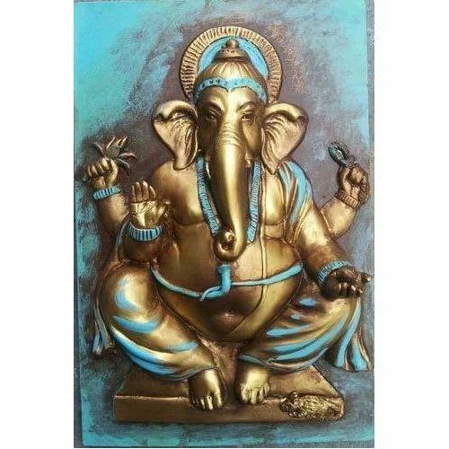 Ganesha Wall Mural at Rs 45000 piece Wall Murals ID 14920561148