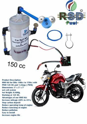 Hho Kit For Bike 150cc Wet Cell At Rs 500 Pack Hho Generator