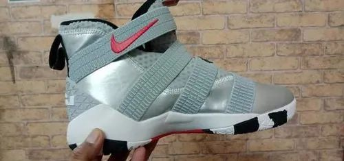 Men Grey Nike Xdr High Ankle Shoes