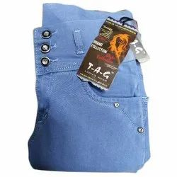 Stretchable Slim Ladies Jeans 3 Buttons Closure, Waist Size: 28 to 34