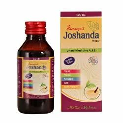 Plastic Expectorants Chetanya Joshanda 100mL, For Wet Cough, Packaging Type: Bottle