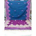Silk Ladies Embroidered Saree, 5.5 M (separate Blouse Piece)