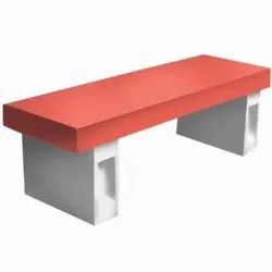 Rectangular Bench without Back Rest